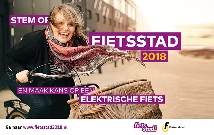 stem op fietsstad 2018